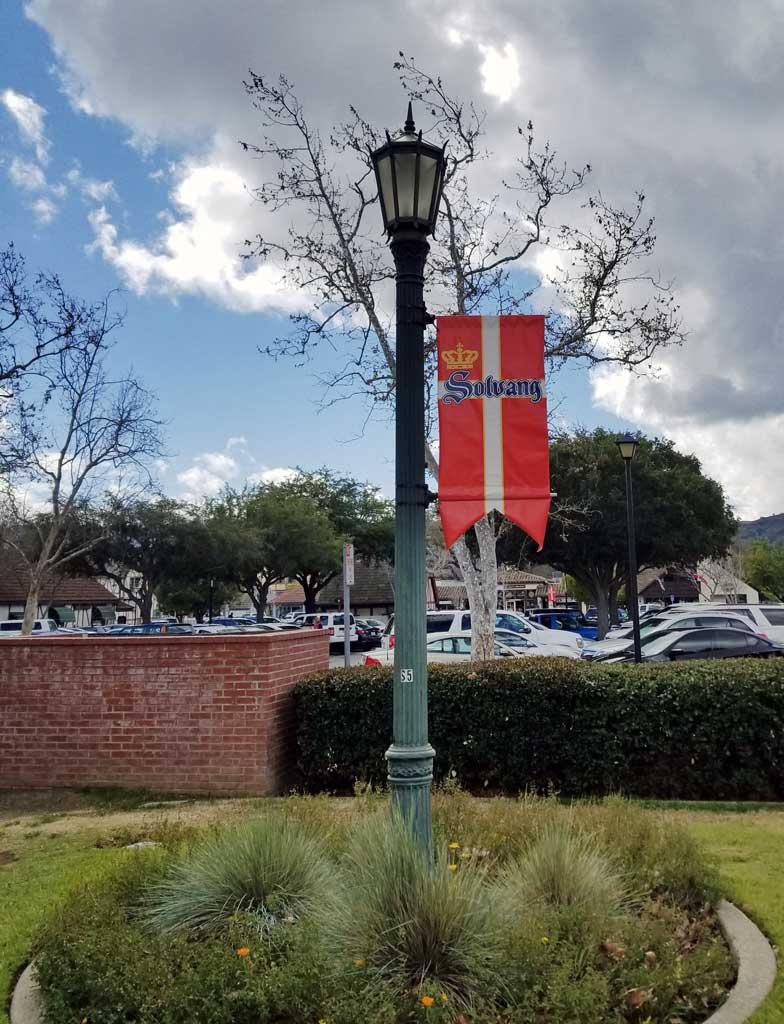 Solvang city banner.
