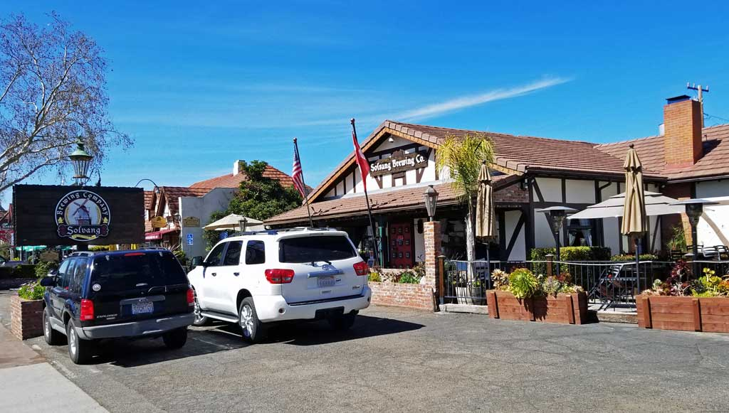 "Solvang is not all wine, there is also the ""Solvang Brewing Co"" in the town centre."