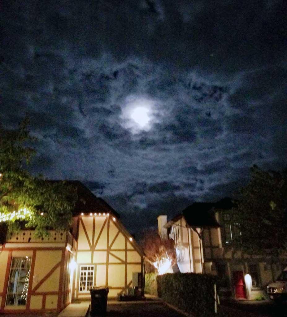 Moon Over Solvang