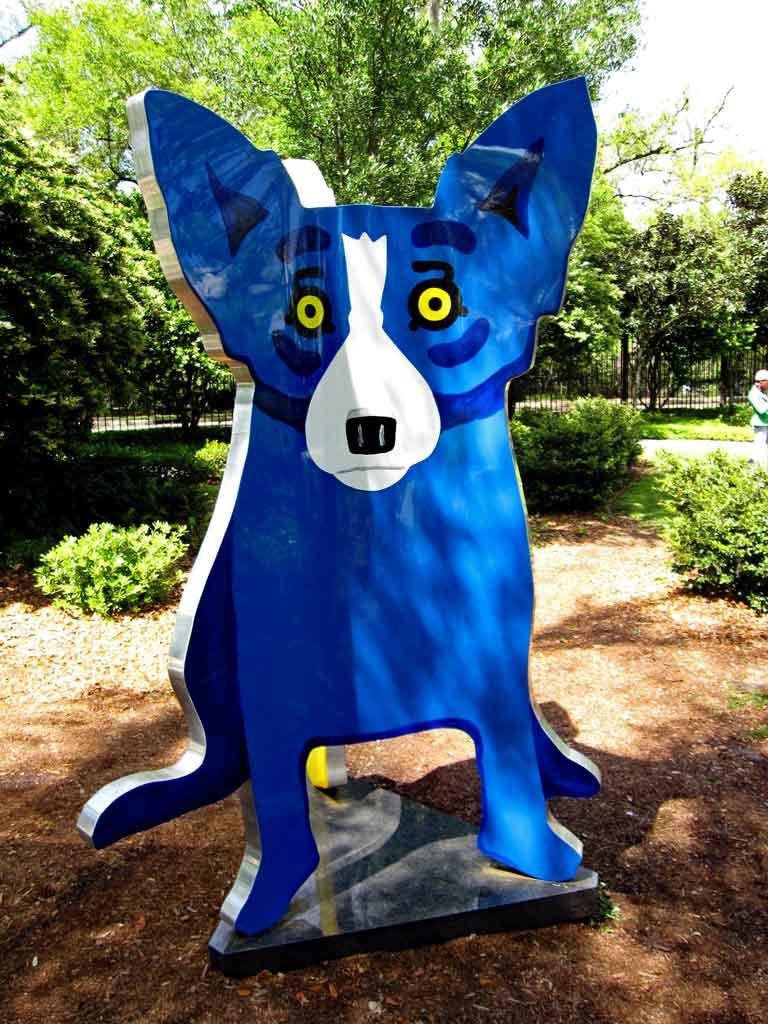 George Rodrigue Blue dog - Loup-garou.